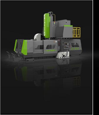 CNC龙门数控加工中心XK2014强力重切削型